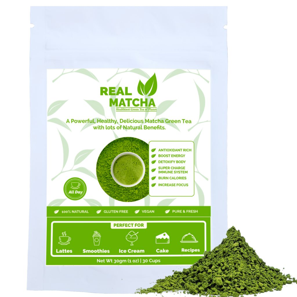 Matcha Green Tea 30gm Pouch