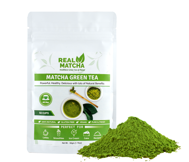 Real Matcha Main Display Image